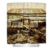 Shabby Country Cottage Shower Curtain