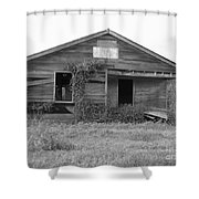 Shack Barn Shower Curtain