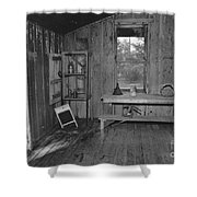 Shack House Shower Curtain