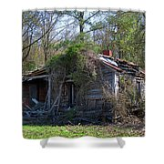 Shack In The Wood Shower Curtain