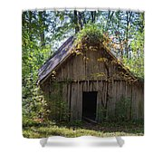 Shack In The Woods Shower Curtain