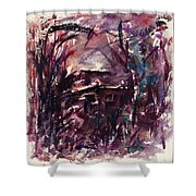 Shack Second Movement Shower Curtain