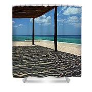 Shade By The Beach Shower Curtain