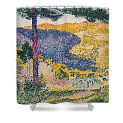 Shade On The Mountain Shower Curtain