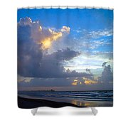 Shades Of Blue Shower Curtain