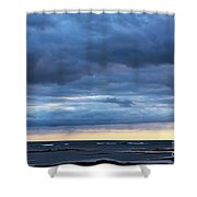 Shades Of Blue.. Shower Curtain