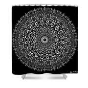 Shades Of Gray No. 6 Shower Curtain