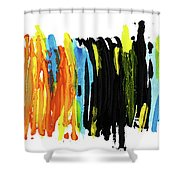 Shades Of Love Shower Curtain