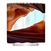 Shades Of Sandstone Shower Curtain
