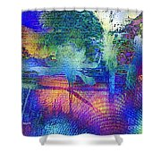 Shades Of Sunset Shower Curtain