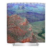 Shades Of The Canyon Shower Curtain
