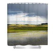 Shades Of Yelliow Shower Curtain