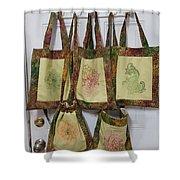 Shadi Handbags Shower Curtain