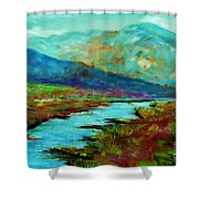 Shadow Brook Shower Curtain