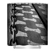 Shadow Chain Shower Curtain
