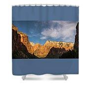 Shadow Mountain Zion National Park Utah Shower Curtain