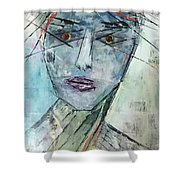 Shadow Of The Soul Shower Curtain