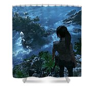 Shadow Of The Tomb Raider Shower Curtain