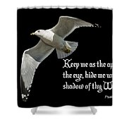 Shadow Of Thy Wings Shower Curtain