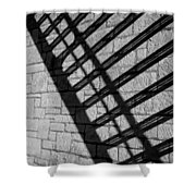 Shadow Play 2 Shower Curtain