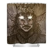 Shadow Prince Shower Curtain