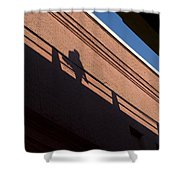 Shadow Skate Shower Curtain
