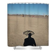 Shadows Shower Curtain