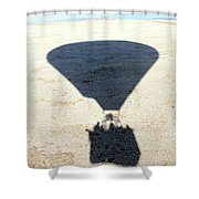 Shadows Of Freedom Shower Curtain