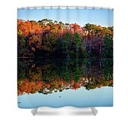 Shadows Of Reflection Shower Curtain