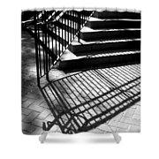 Shadows Series-1 Shower Curtain
