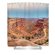 Shafer Canyon Shower Curtain