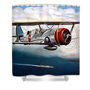 Shakedown Cruise Shower Curtain