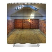 Shaker Chests Shower Curtain