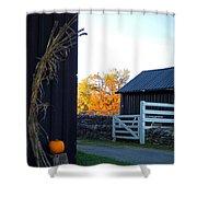 Shaker Fall Decor 2 Shower Curtain