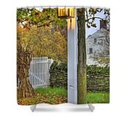 Shaker Fall Decor Shower Curtain