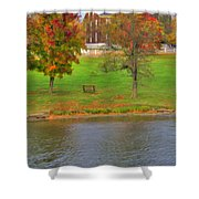 Shaker Geese 2 Shower Curtain