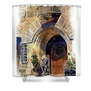Shaker Heights Shower Curtain