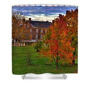 Shaker Lake 9 Shower Curtain