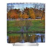 Shaker Lake 5 Shower Curtain