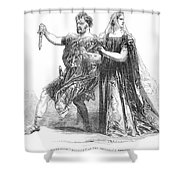 Shakespeare: Macbeth, 1845 Shower Curtain
