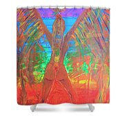 Shakti Angel Shower Curtain