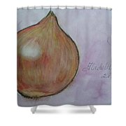 Shallot Shower Curtain
