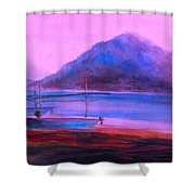 Shallow 07 Shower Curtain