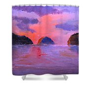 Shallow 18 Shower Curtain
