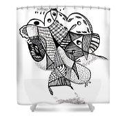 Shaman Shower Curtain