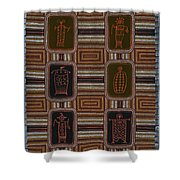 Shaman II Shower Curtain