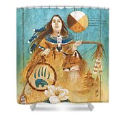 Shaman's Path Shower Curtain