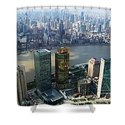 Shanghai By The River Shower Curtain