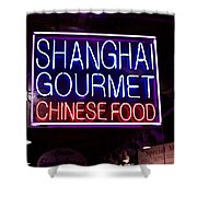Shanghai Chinese Food Shower Curtain