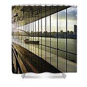Shanghai City 13 Shower Curtain